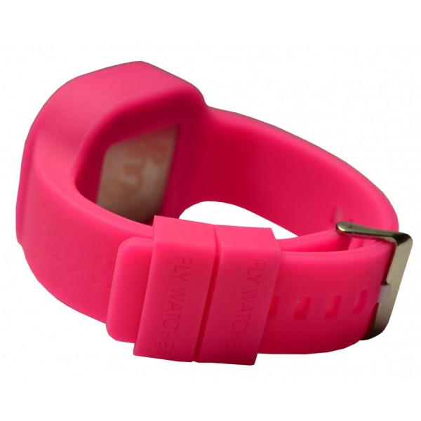 tous leather strap watch watches pink steel with ip camille dp