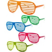 Neon Shutter Sunglasses