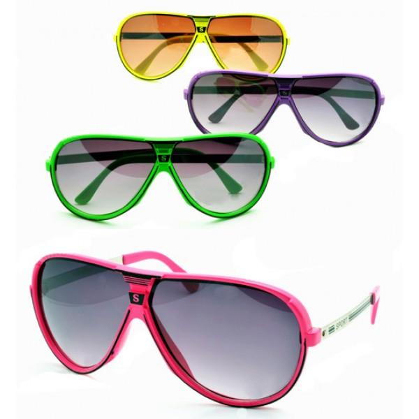 Turbo Neon Sunglasses