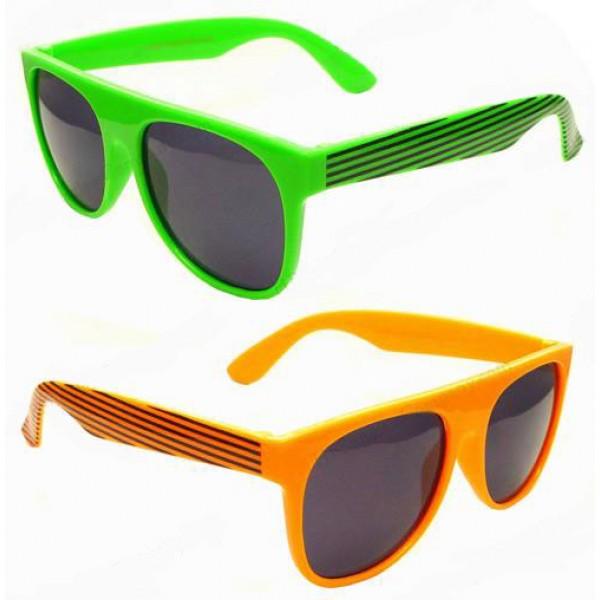 Neon Wayfarer Sunglasses